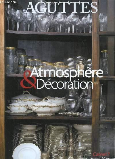 1 catalogue de vente aux encheres atmosphere for Vente decoration interieur