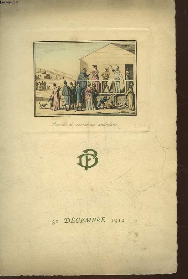 1 PROGRAMME - MAGNO - GENEVIEVE GERARD - DELAQUERRIERE FILS  - LE CHANSONNIER ENTHOVEN - Mlle THAMAR DE SWIRSKY - LITTLE DAISY - FELIX GALIPAUX