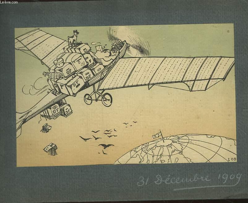 1 PROGRAMME POUR LE REVEILLON 1909 - LEO NINO - PHRYNE - MEVISTO AINE - ALLO JE CAUSE! - UN PEU DE MUSIQUE