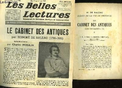 SCENES DE LA VIE DE PROVINCE - LES CABINET DES ANTIQUES - LES RIVALITES 2 - LES BELLES LECTURES - 4° ANNEE - N°132