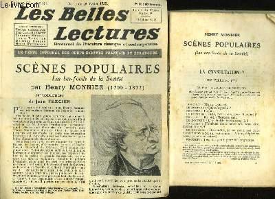 SCENES POPULAIRES - LES BAS FONDS DE LA SOCIETE - LES BELLES LETTRES - 5° ANNEE- N°151