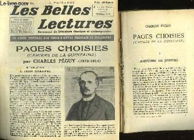 PAGES CHOISIES - LES BELLES LECTURES - 5° ANNEE - N°154
