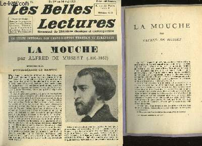 LA MOUCHE - LES BELLES LECTURES - 5° ANNEE - N°156