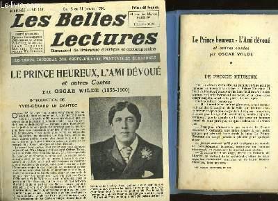 LE PRINCE HEUREUX - L'AMI DEVOUE - LES BELLES LECTURES - 5° ANNEE - N°149