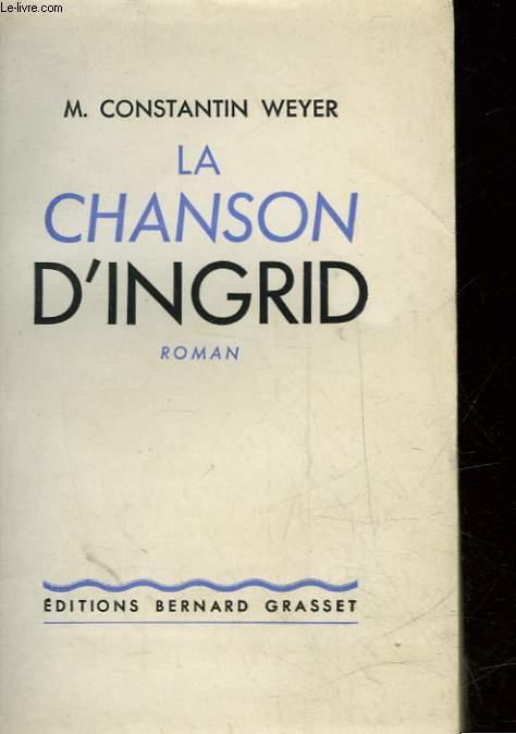 LA CHANSON D'INGRID