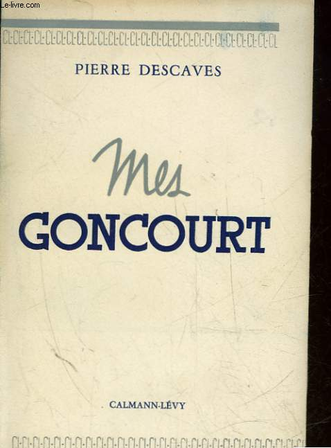 MES GONCOURT