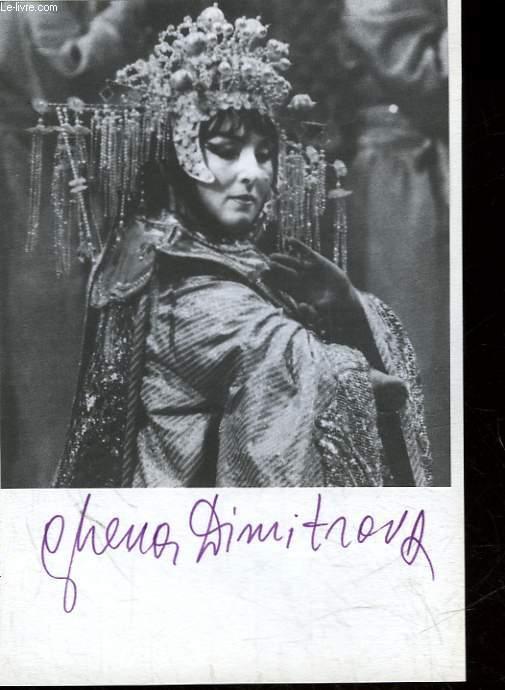 1 PHOTOGRAPHIE DE GHENA OIMITROVA