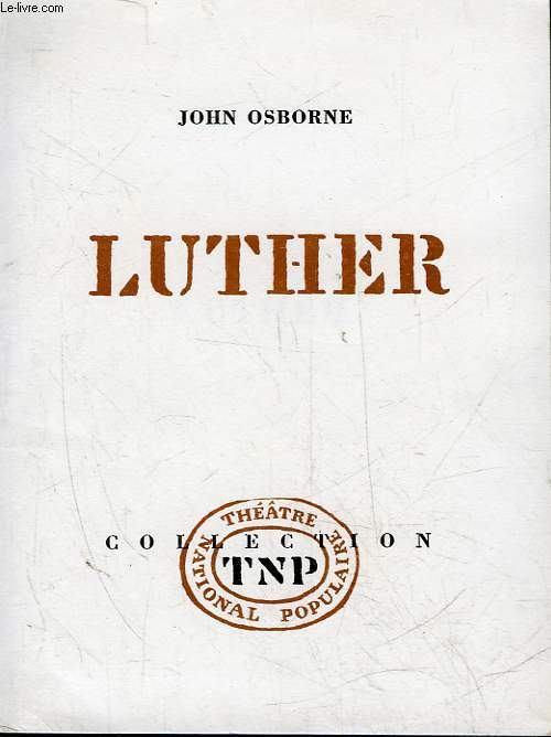 LUTHER - 3 ACTES
