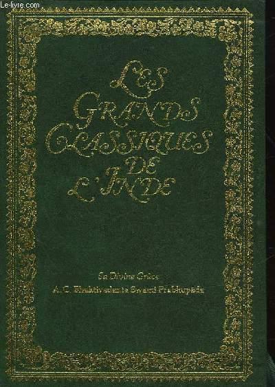 LES GRANDS CLASSIQUES DE L'INDE - LE SRIMAD BHAGAVATAM - PREMIER CHANT - LA CREATION - 3 TOMES