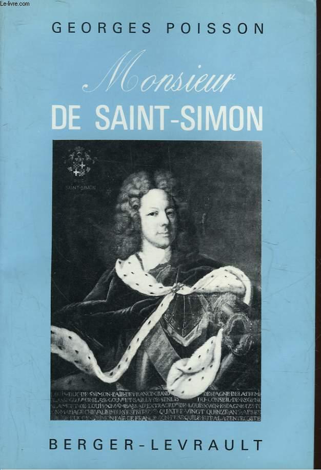 MONSIEUR DE SAINT-SIMON