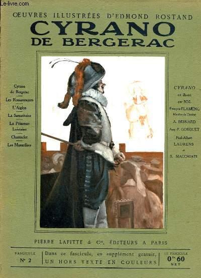 OEUVRES ILLUSTREES D'EDMOND ROSTAND - FASCICULE N° 2 - CYRANO DE BERGERAC