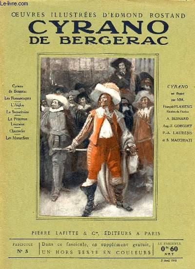 OEUVRES ILLUSTREES D'EDMOND ROSTAND - FASCICULE N° 5 - CYRANO DE BERGERAC