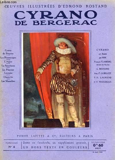 OEUVRES ILLUSTREES D'EDMOND ROSTAND - FASCICULE N° 6 - CYRANO DE BERGERAC