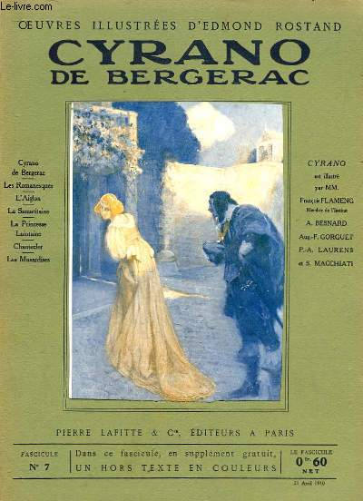 OEUVRES ILLUSTREES D'EDMOND ROSTAND - FASCICULE N° 7 - CYRANO DE BERGERAC