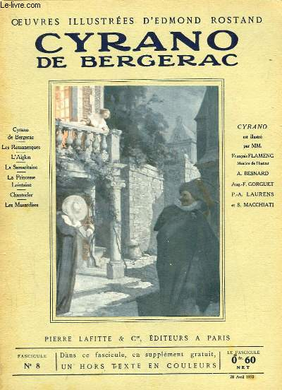 OEUVRES ILLUSTREES D'EDMOND ROSTAND - FASCICULE N° 8 - CYRANO DE BERGERAC