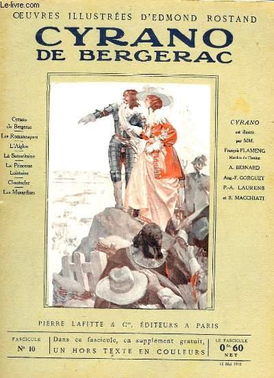 OEUVRES ILLUSTREES D'EDMOND ROSTAND - FASCICULE N° 10 - CYRANO DE BERGERAC