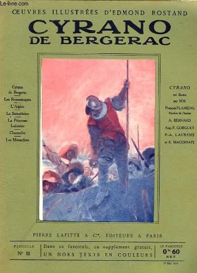 OEUVRES ILLUSTREES D'EDMOND ROSTAND - FASCICULE N° 11 - CYRANO DE BERGERAC