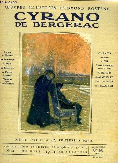 OEUVRES ILLUSTREES D'EDMOND ROSTAND - FASCICULE N° 12 - CYRANO DE BERGERAC
