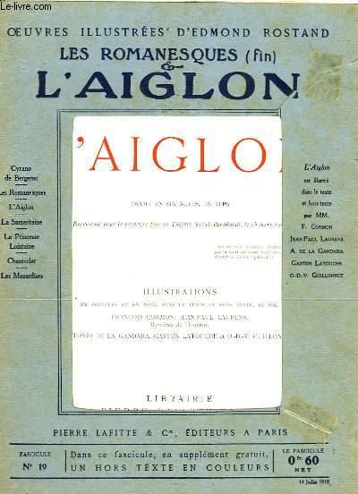 OEUVRES ILLUSTREES D'EDMOND ROSTAND - FASCICULE N° 19 - L'AIGLON