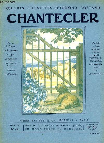 OEUVRES ILLUSTREES D'EDMOND ROSTAND - FASCICULE N° 46 - CHANTECLER