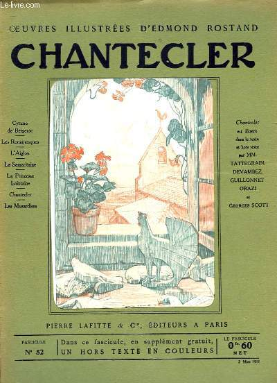 OEUVRES ILLUSTREES D'EDMOND ROSTAND - FASCICULE N° 52 - CHANTECLER