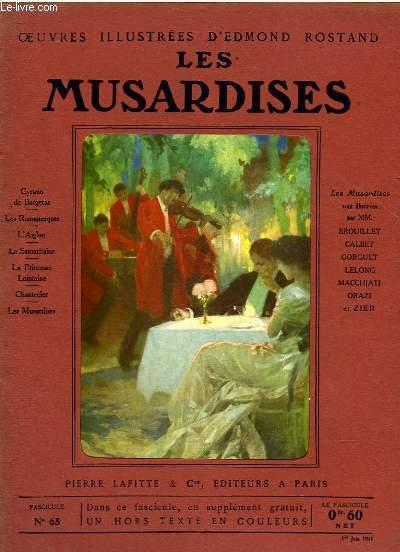 OEUVRES ILLUSTREES D'EDMOND ROSTAND - FASCICULE N° 65 - LES MUSARDISES