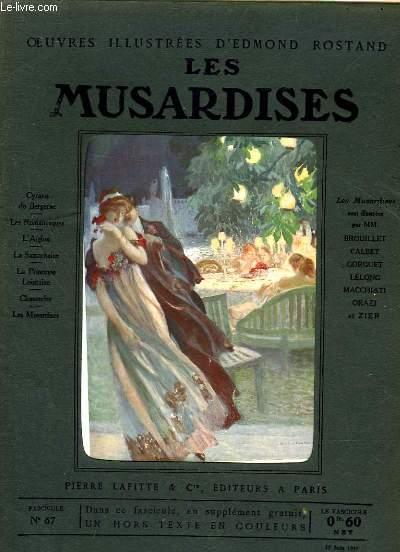 OEUVRES ILLUSTREES D'EDMOND ROSTAND - FASCICULE N° 67 - LES MUSARDISES