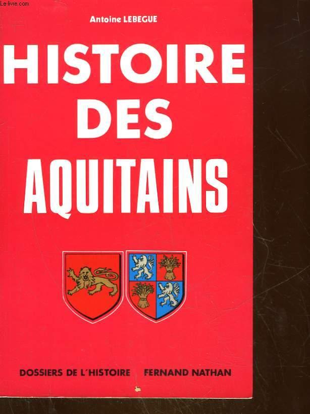 HISTOIRE DES AQUITAINS