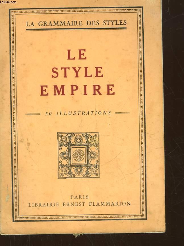 LE STYLE EMPIRE