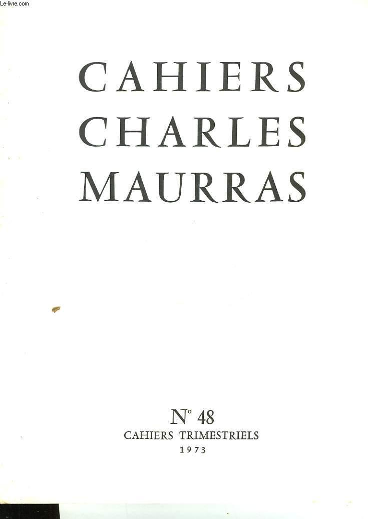 CAHIRS CHARLES MAURRAS N°48