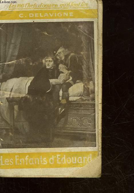 LES ENFANTS D'EDOUARD - TRAGEDIE EN 3 ACTES