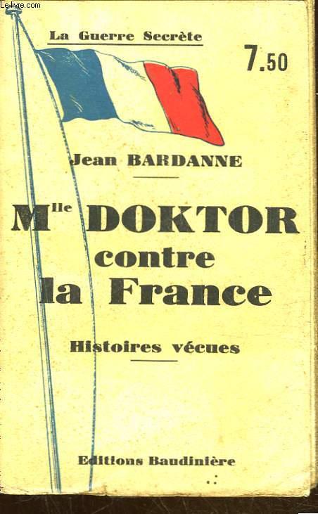 MLLE DOKTOR CONTRE LA FRANCE