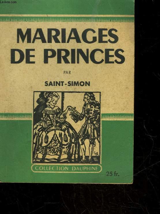 MARIAGE DE PRINCES MON AMBASSADE EN ESPAGNE