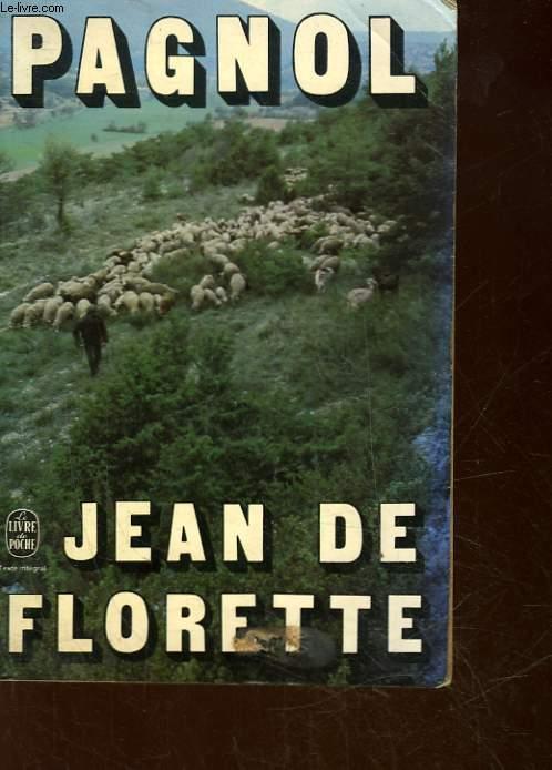 L'EAU DES COLLINES - JEAN DE FLORETTE - TOME 1