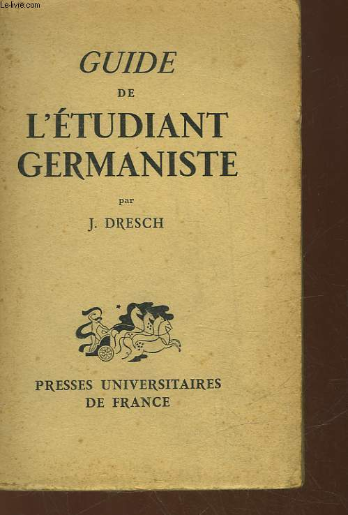 GUIDE DE L'ETUDIANT GERMANISTE