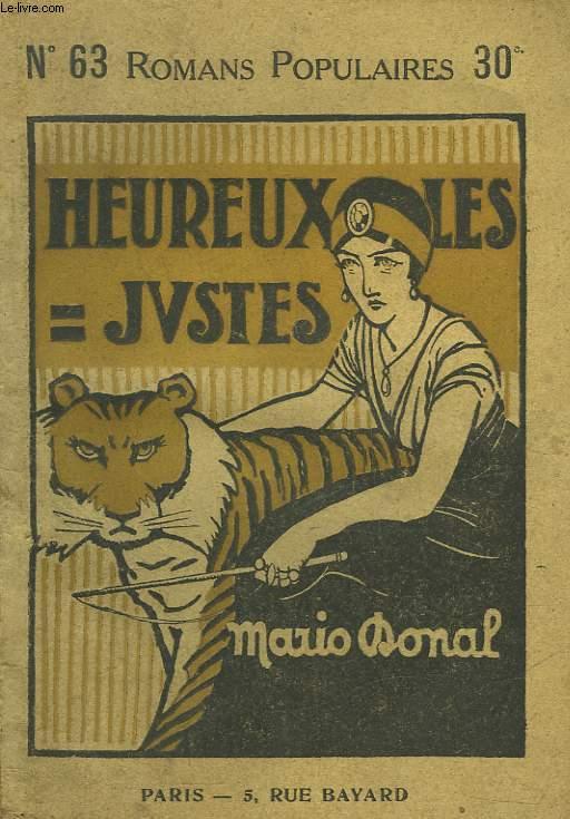 HEUREUX LES JUSTES