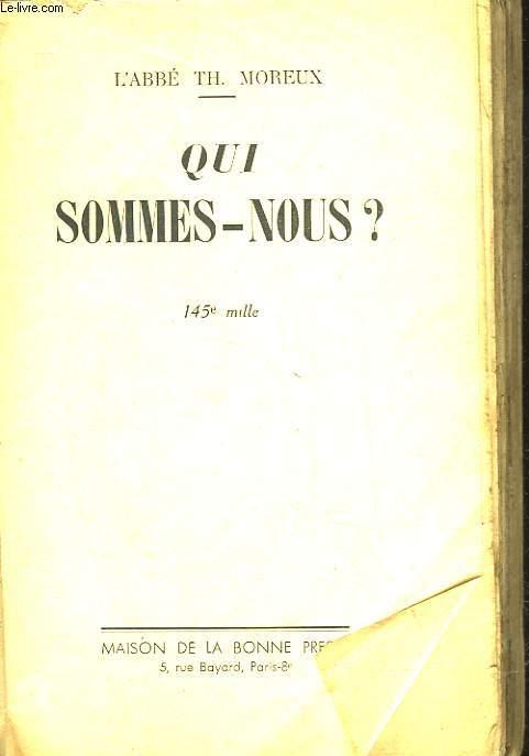 QUI SOMMES-NOUS?