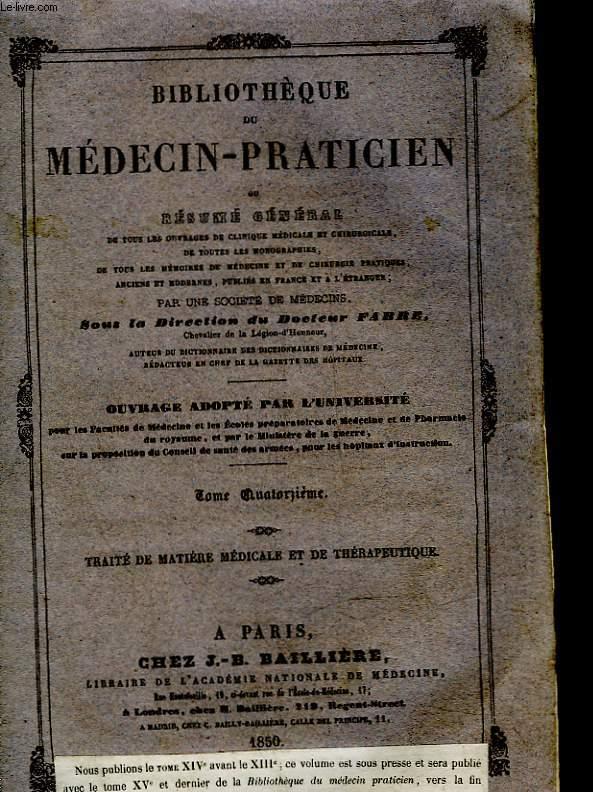 bibliotheque du medecin