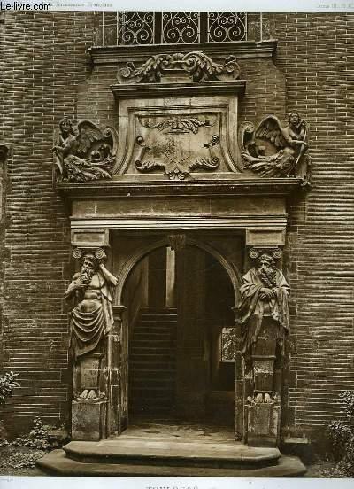 1 gravure en noir et blanc de l hotel bullioud rue juiverie galerie sur la - Porte principale maison ...