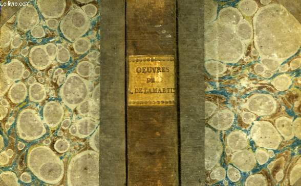 OEUVRES D'ALPHONSE DE LAMARTINE - TOME 1