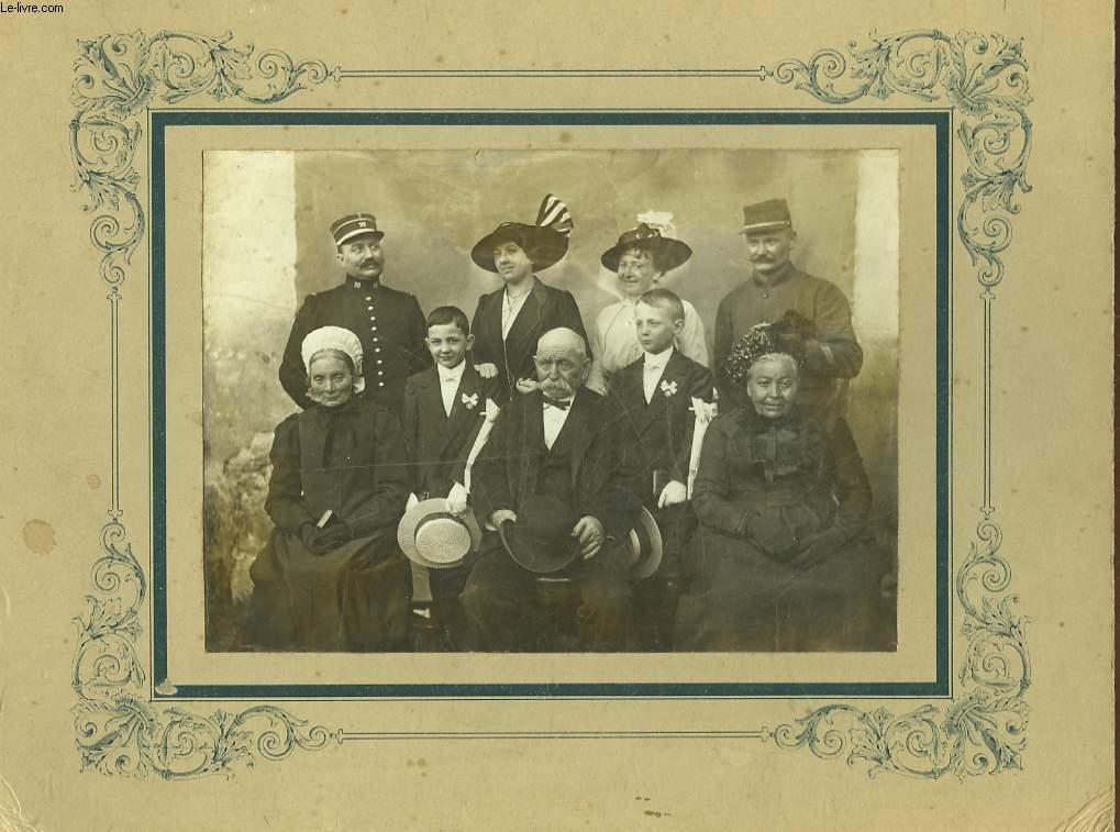 1 PHOTO ANCIENNE DE FAMILLE