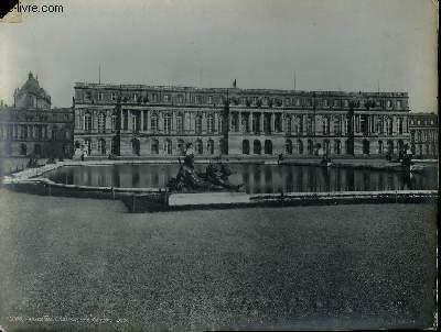 1 PHOTO ANCIENNE EN NOIR ET BLANC - VERSAILLES CHATEAU COTE DU PARC - N°12006