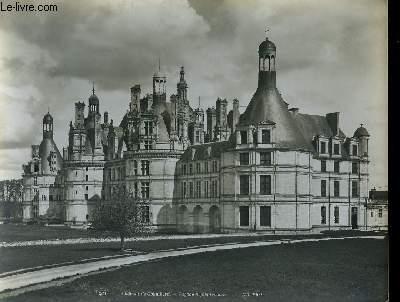 1 PHOTO ANCIENNE EN NOIR ET BLANC - CHATEAU DE CHAMBORT, FACADE SEPTENTRIONALE - N°281