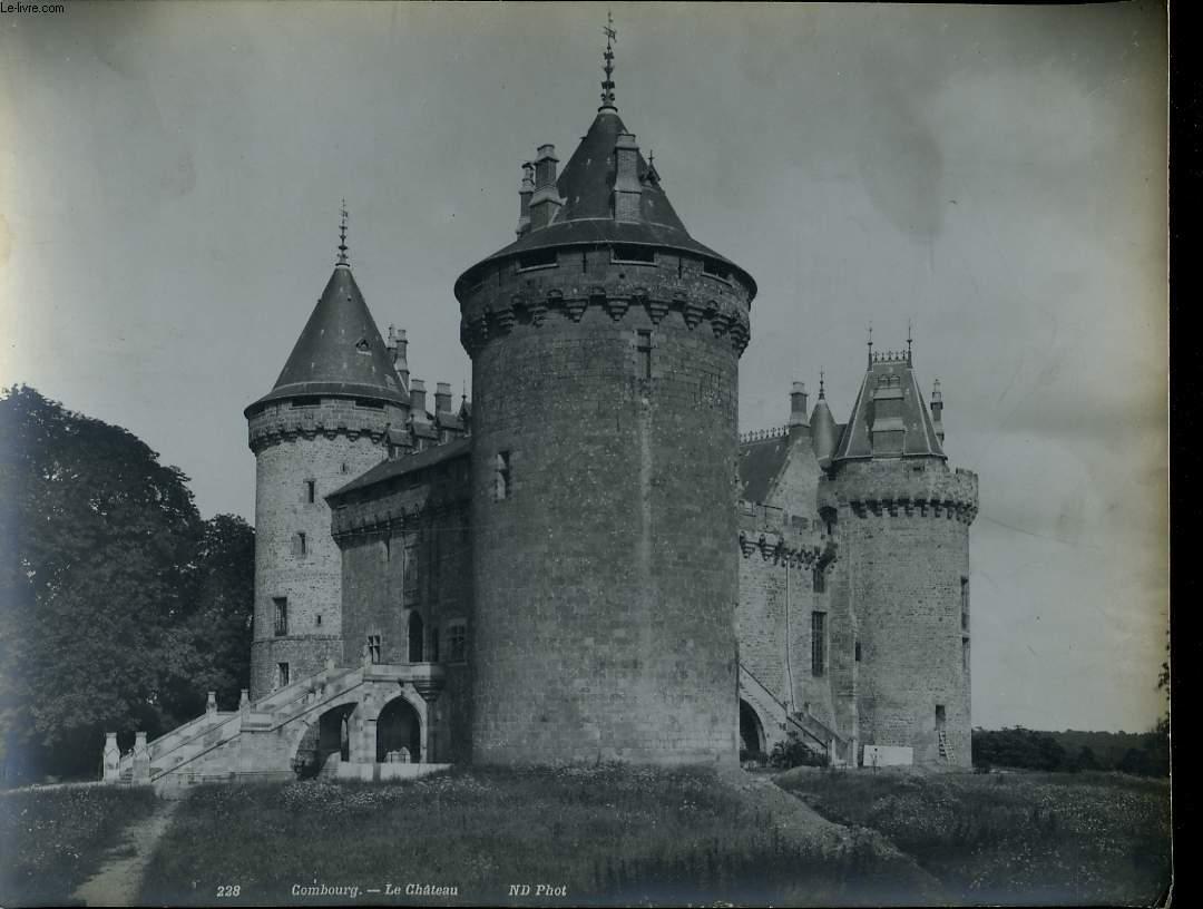 1 PHOTO ANCIENNE EN NOIR ET BLANC - COMBOURG, LE CHATEAU - N°228