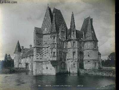 1 PHOTO ANCIENNE EN NOIR ET BLANC - MORTEE - LE CHATEAU D'O, 16° SIECLE - N°218