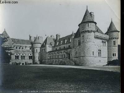1 PHOTO ANCIENNE EN NOIR ET BLANC - ENV. DE CHERBOURG, LE CHATEAU DE MARTINVAST, FACADE SEPTENTRIONALEN°237