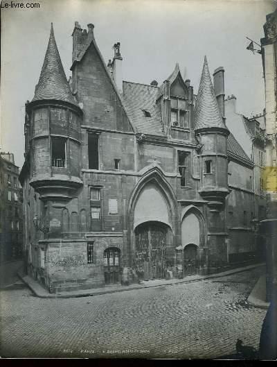 1 PHOTO ANCIENNE EN NOIR ET BLANC - PARIS, L'ANCIEN HOTEL DE SENS - N°3532