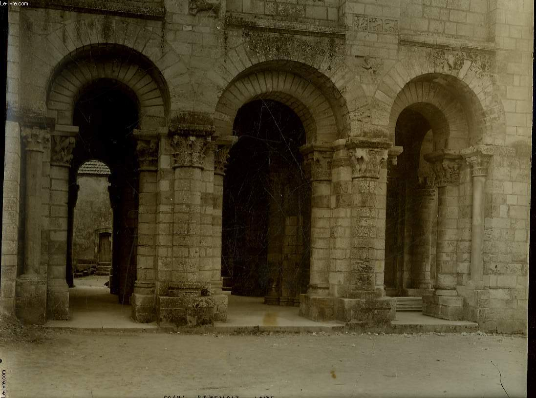 1 PHOTO ANCIENNE EN NOIR ET BLANC -  ST BENOIT SUR LOIRE - N°60484