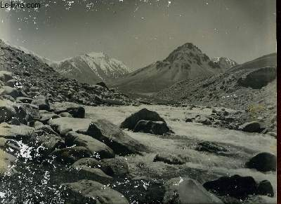 1 PHOTO ANCIENNE EN NOIR ET BLANC - A BEAUTIFUL VIEW OF THE AFGHAN PAMIRS