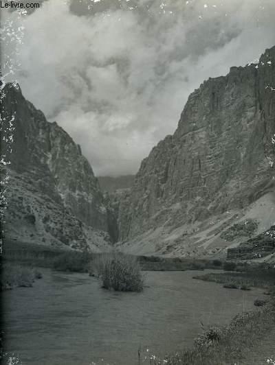 1 PHOTO ANCIENNE EN NOIR ET BLANC - AJAR PASS,AFGHANISTAN